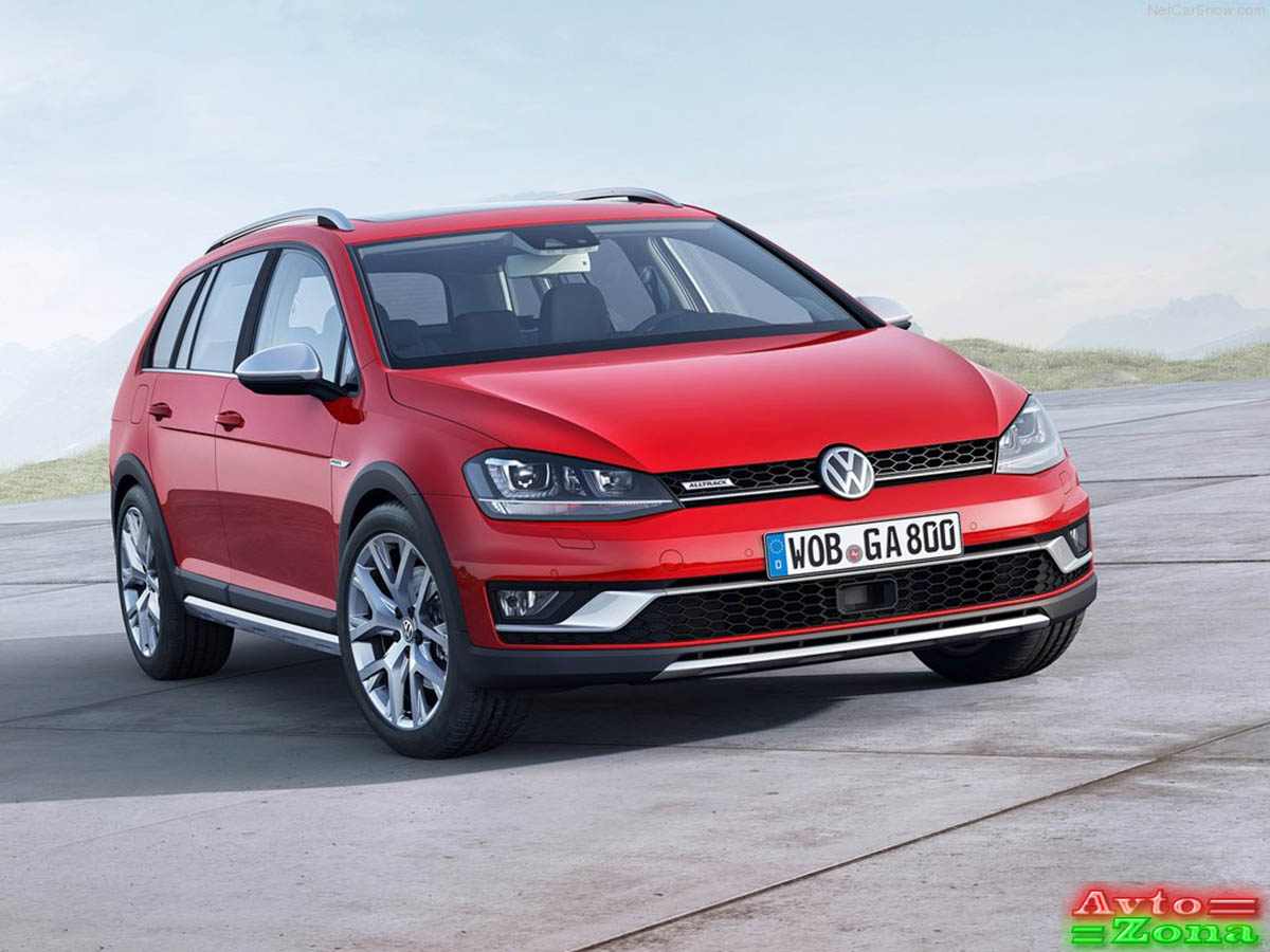 Фото 2: Volkswagen (Фольксваген) Golf Alltrack