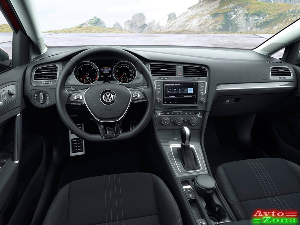 Фото 3: Volkswagen (Фольксваген) Golf Alltrack