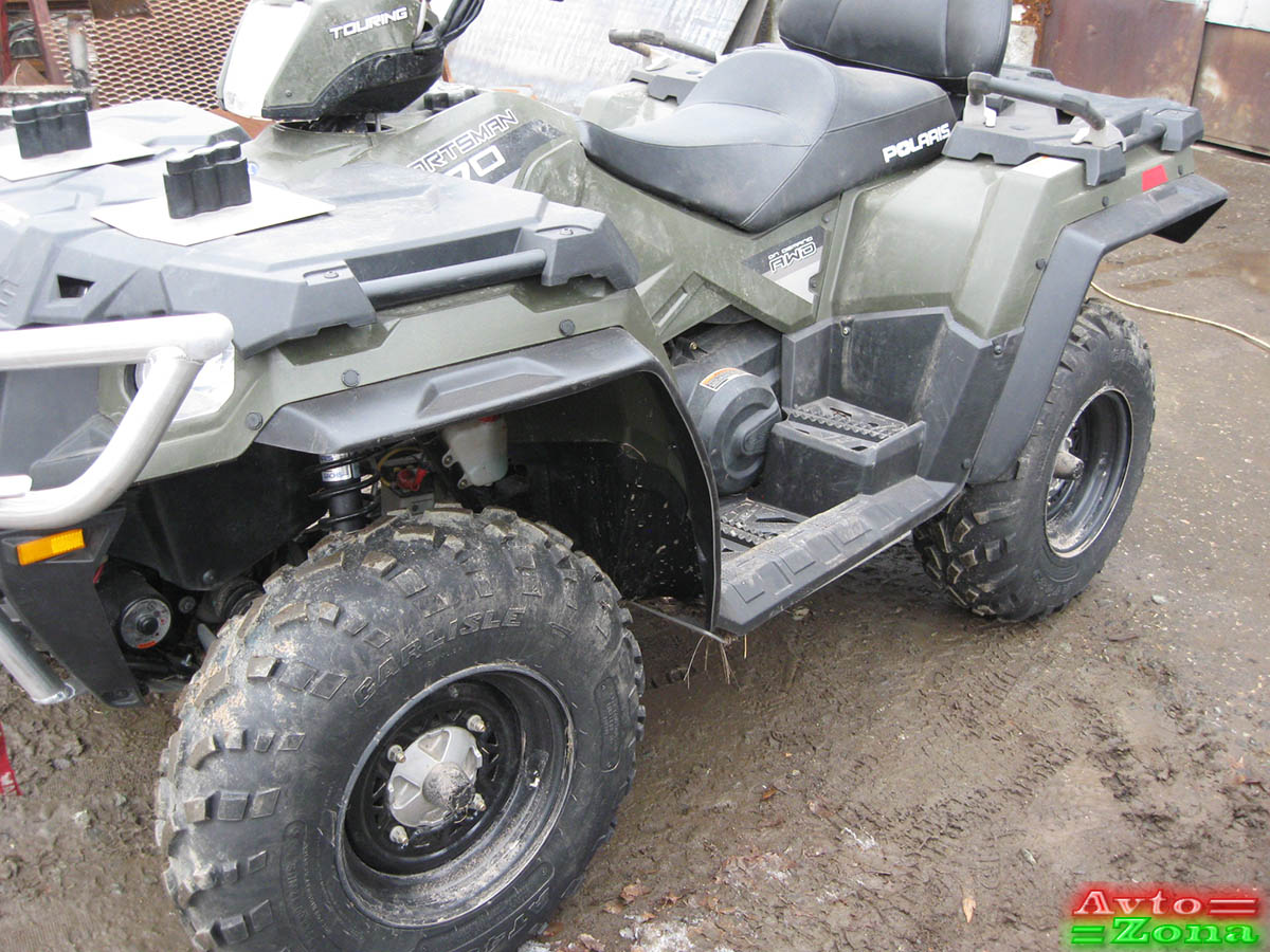 Фото 2: Расширители арок для квадроцикла POLARIS SPORTSMAN 570 TOURING