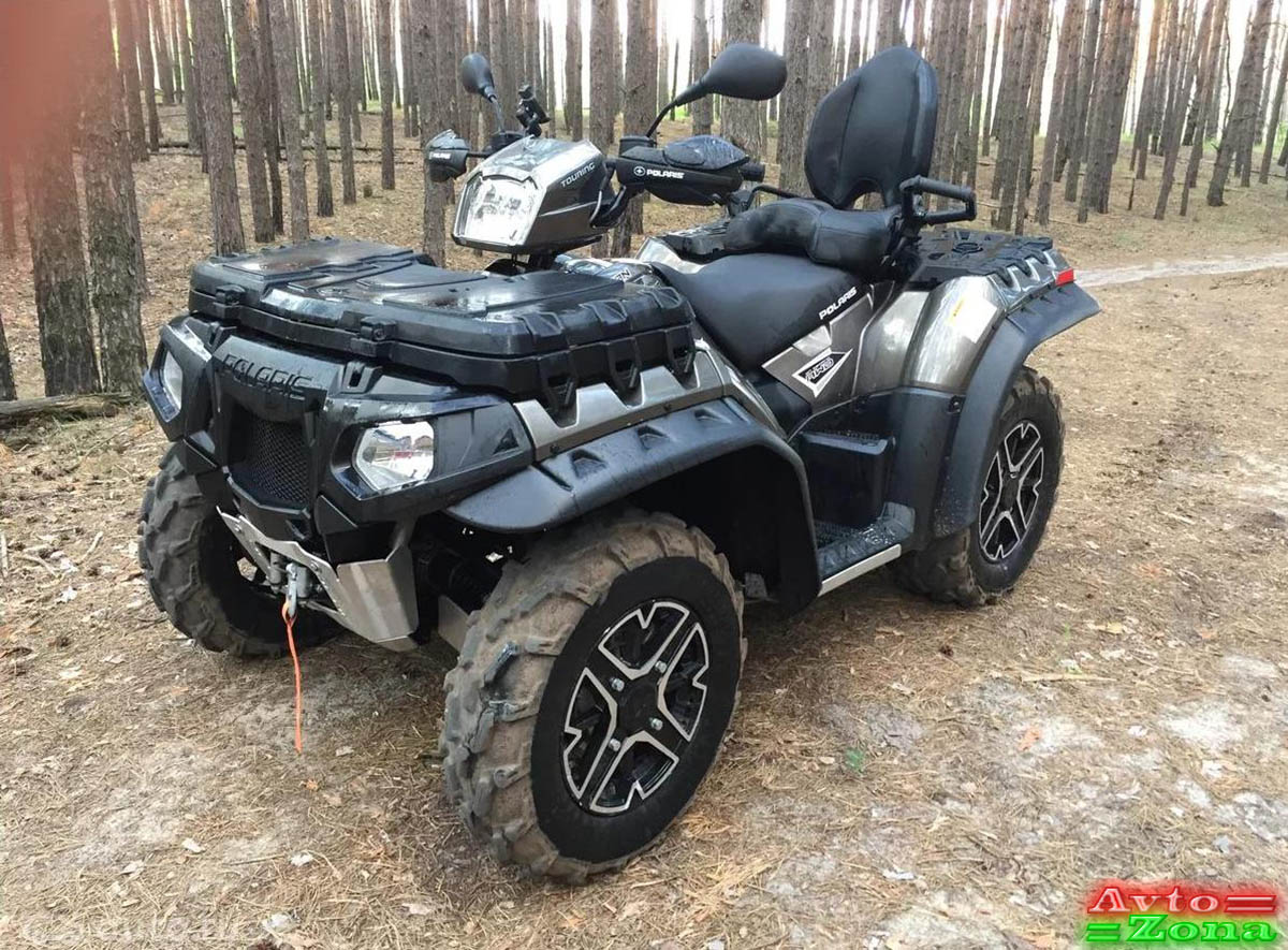 Фото 3: Расширители арок для квадроцикла POLARIS SPORTSMAN 570 TOURING
